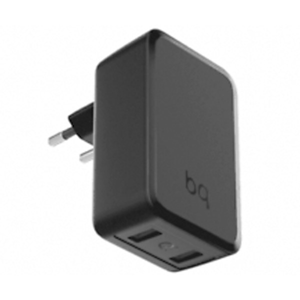 Bq g004810 negro cargador red quick charge 3.0 doble usb