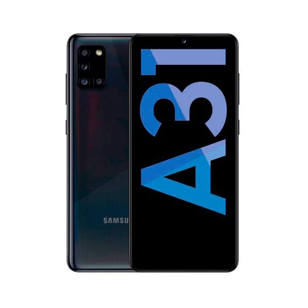 Samsung a31 negro móvil 4g dual sim 6.4'' super amoled fhd+ octacore 128gb 4gb ram quadcam 48mp selfies 20mp