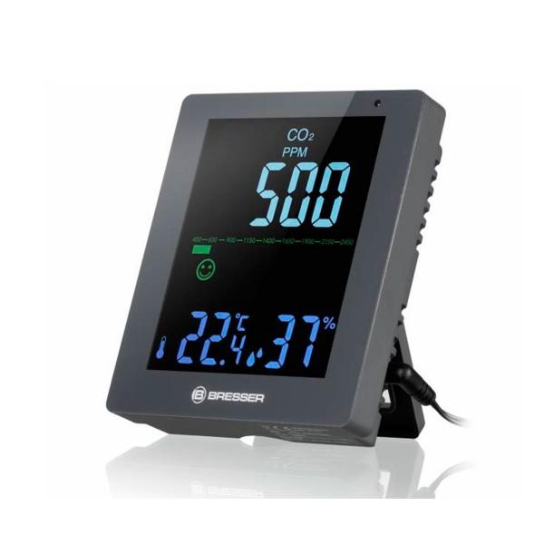 Bresser monitor co2 y calidad del aire gris