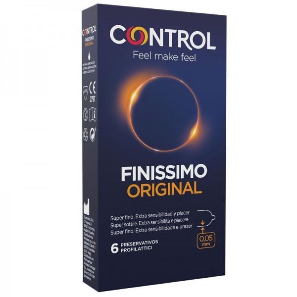 CONTROL PRESERVATIVOS FINISSIMO ORIGINAL 6 UDS